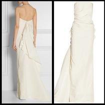 Lanvin Ivory Silk-Faille Wedding Dress Used Photo