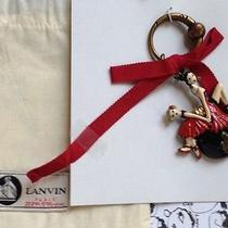 Lanvin Key Ring Handbag Charm  Mother and Daughter 120 Years Limited Edition  Photo