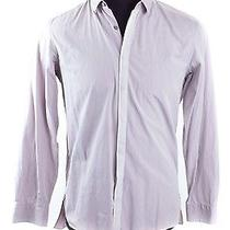 Lanvin Lavender Cotton Button Down Photo