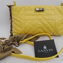 Lanvin Leather Quilted Shoulder Bag - Classic & Perfect Gift Photo