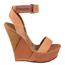 Lanvin Leather Wedge Sandals Photo