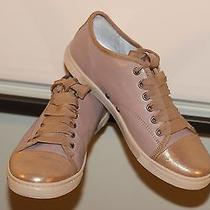 Lanvin Low Top Leather Sneakers Sz 38  Photo