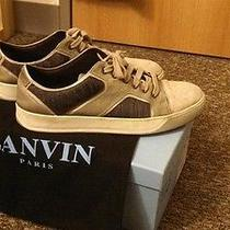 Lanvin Low Top Sneakers Size 10/10.5 Us No Reserve  Photo