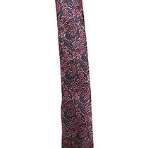 Lanvin Luxury Fashion House Luxury  Tie Pattern Quality Red Paisley Camo Photo