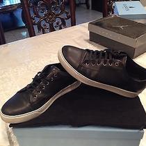 Lanvin Men's Sneakers Low Top Black (Size 9) Photo