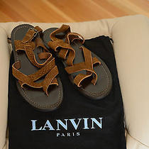 Lanvin Men Sandal - Size 7 - Brand New  Photo
