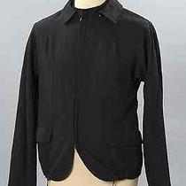 Lanvin Men Wool & Silk Removable Down Collar Houndstooth Jacket S/s 2011 Photo