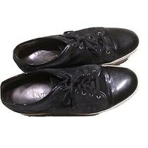Lanvin Mens Black Sneakers. Size 11. Cost Close to 500 New Photo