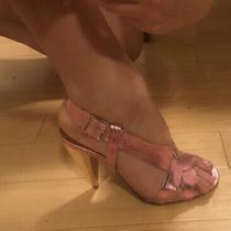 Lanvin Metallic Pink Heels Photo