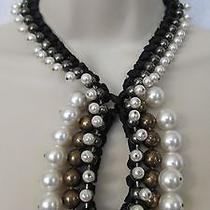 Lanvin Necklace With Beads and Pearls. France .100 % Authentic. Photo