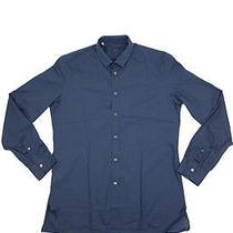 Lanvin Paris Luxury Shirt Grosgrain Collar  Photo