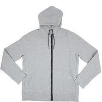 Lanvin Paris Luxury Zipped Grey Hoodie  Photo