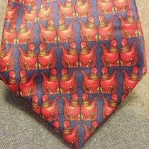Lanvin Paris Silk Designer Tie Photo