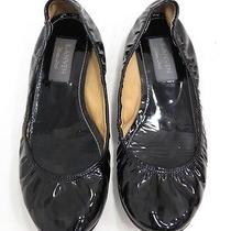 Lanvin Patent Ballet Flat Black Size 39 Gently Worn Photo