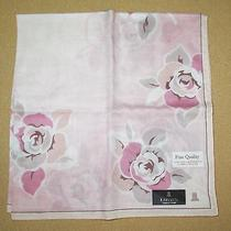 Lanvin Pink Rose Softy Scarf Handkerchief 50cm /mhibari Photo