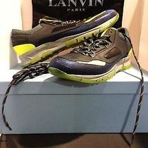 Lanvin Reflective Trim Low Top Sport Sneaker Photo
