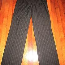 Lanvin River 2004 Pinstripe Pants Size S/m Photo