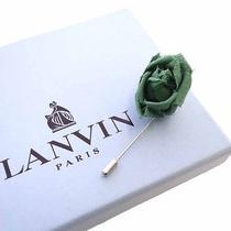 Lanvin Rose Rose Brooch - Green Photo