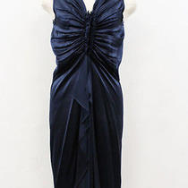 Lanvin Silk Satin Ghers Dress Free Shipping World Wide Photo