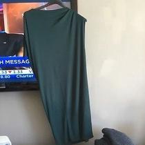 Lanvin Size 40 Teal Dress Good Price Photo