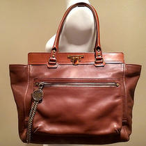 Lanvin Sold Out Classic Brown Gypsy Celine Tote Bag With Detachable Clutch Photo