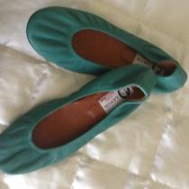 Lanvin Teal Ballerina Flat  Never Worn Photo