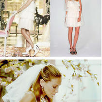 Lanvin Wedding Dress as Seen in Sex and the City Vogue Shoot With Sj Parker Photo