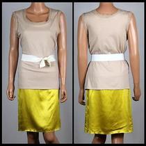 Lanvin Womens Silk-Cotton Dress Size M Photo
