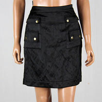 Lanvin Womens Silk Mini Skirt Size 38 Photo