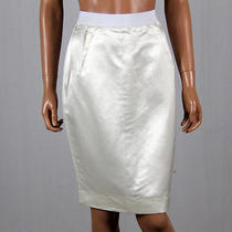 Lanvin Womens Silk Skirt Size 38 Photo