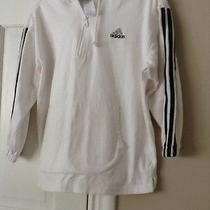 Large Adidas White Sweatshirt Photo