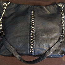 Large Aldo Faux Leather Chain Shoulder Bag Hand Bag Purse Photo