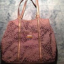 Large Authentic Tommy Hilfiger Handbag / Tote Bag Shopper Must Have Photo