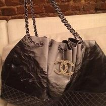 Large Chanel Ombre Vinyl Coco Cabas Tote Photo