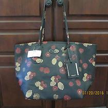 Large Coach Shopper Tote Handbag Nwt Beautiful Abstract Floral Photo