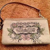 Large Coach Wristlet Photo