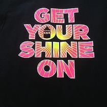 Large Custom Tee Shirt Get Your Shine On Photo