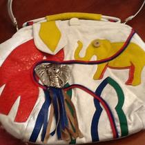 Large Elephant Leather Purse Photo