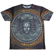 Large Medusa T-Shirt Versace Inspired Givenchy Print the Cxx Photo
