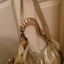 Large Silver Metallic Bag Photo