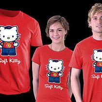 Large Tbbt Big Bang Theory Sheldon Hello Kitty Soft Kitty Flash Tee 100% Cotton Photo