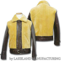 Laskin Lamb Ll80037 Leather Jacket Fur Bear Jean Indian Orient Enterprise Photo