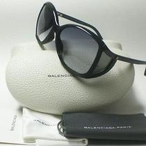 Last Balenciaga 0084/s Itd Sunglasses Black Grey Lenses Authentic Photo