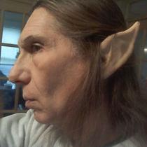 Latex High Elf Ears the Original Natural Skin Tone Latex Ear Photo