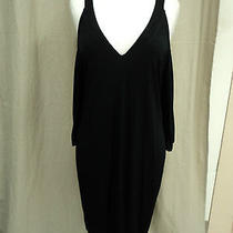 Laundry Black Dress Size M Nwt Photo