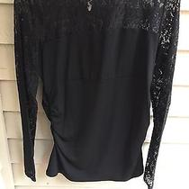 Laundry Black Lace Blouse Photo