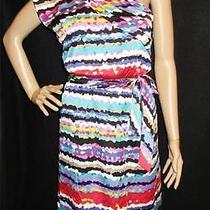 Laundry by Design  One Shoulder Dress Designer Art Deco Dress  Sz 8  Nwt New Photo