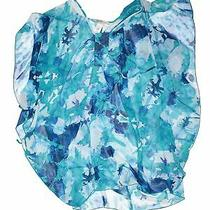 Laundry by Design Women Blue Swimsuit Cover Up L Photo