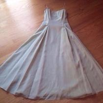 Laundry by Shelli Segal Beautiful Green Dress. a-Line Fitted Bodice Prom/wedding Photo