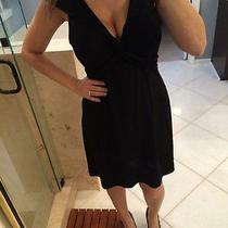 Laundry by Shelli Segal Black Sleeveless Formal Short Dress Size 10 Photo